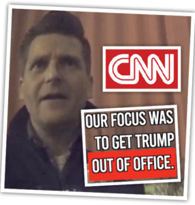 CNN caught on camera admitting their anti-Trump agenda.
