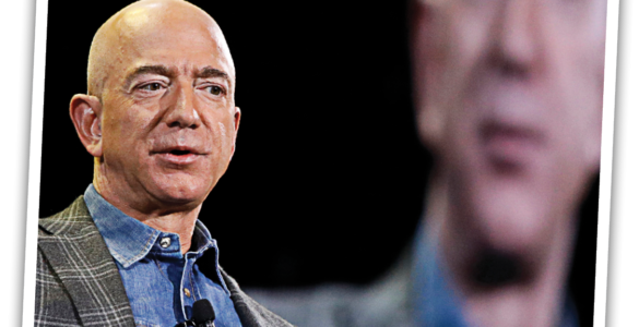 Jeff Bezos confronting his own mortality.